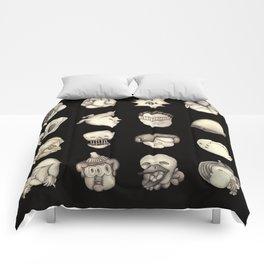 More Freak Heads Comforters