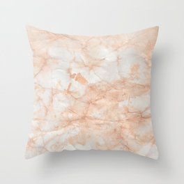 Paper Marble Texture Throw Pillow