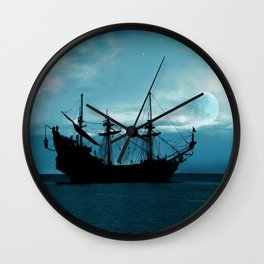 In The Still Of The Night ... By LadyShalene Wall Clock
