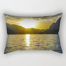 Sunset view in Muscat Oman Rectangular Pillow