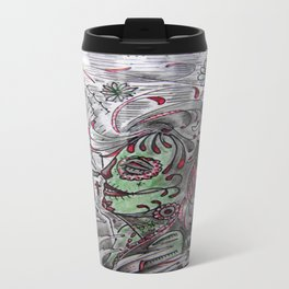 Rock Of Ages In The Gulf of Mexico. Travel Mug