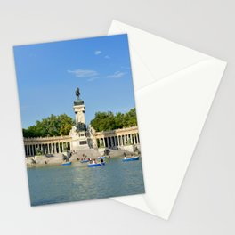 El Retiro | Madrid, Spain Stationery Cards