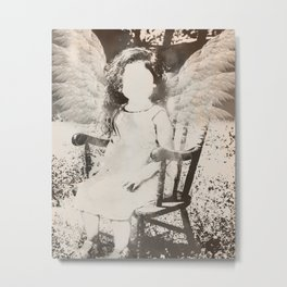 Faceless Angel Metal Print