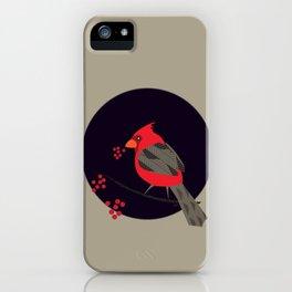 Cardinal Song iPhone Case