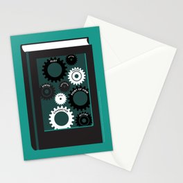 The Gears of Craft Stationery Cards