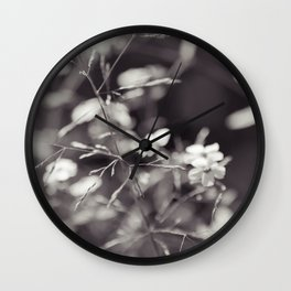 August in the Prairie Wall Clock