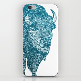 The Bison iPhone Skin