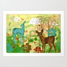 oh my dear! Art Print