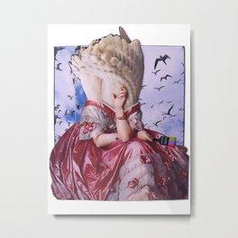 Fortuna   Collage Metal Print