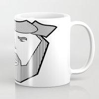 the dude Mugs featuring Dude by Martin Heinemann