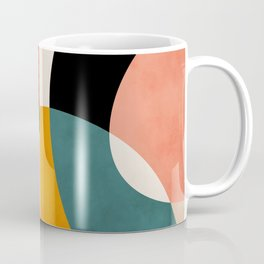 geometry shapes 3 Coffee Mug