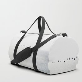 Sailboats regatta seascape Duffle Bag