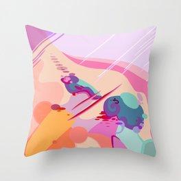 BRUISES Throw Pillow