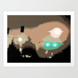 Street Lights #3 Art Print