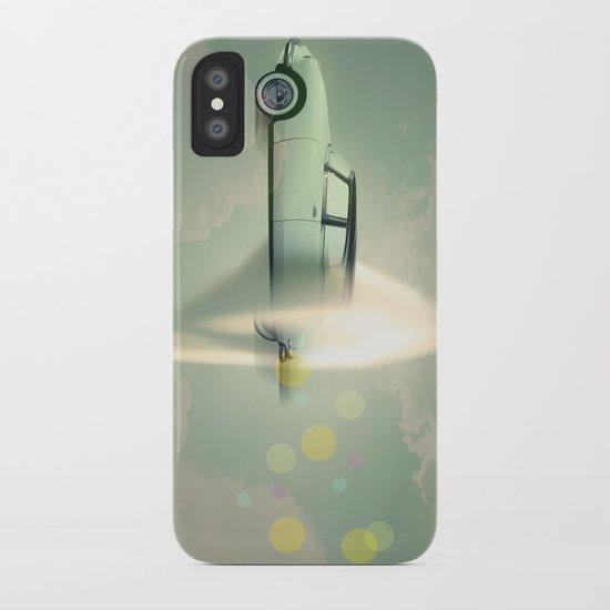 supersonic citroen iPhone Case