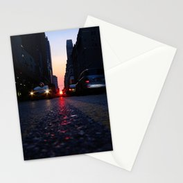 manhattanhenge july 2014 Stationery Cards