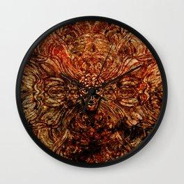 AlienPattern Wall Clock