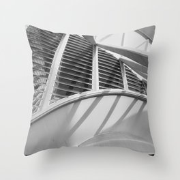 City of Arts and Sciences IV by CALATRAVA architect Throw Pillow