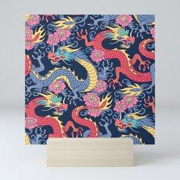 East Dragons Mini Art Print