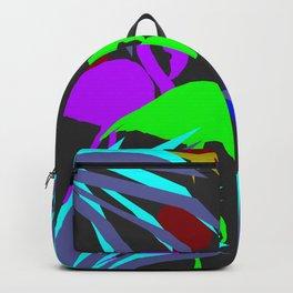 Flamingo jungle negative Backpack