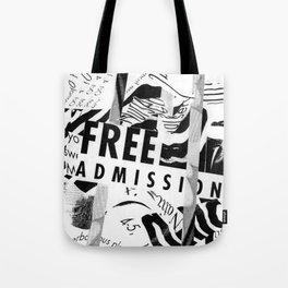 Free Admission Tote Bag