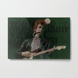 Dylan Goes Electric Metal Print