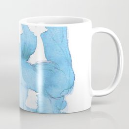 Watercolor Baboon - Blue Palette Coffee Mug