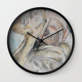 duck and bear Wall Clock
