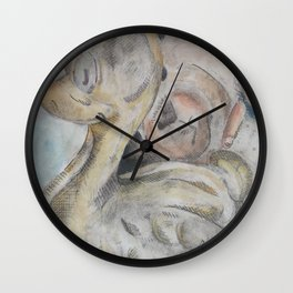 duck and bear Wall Clock