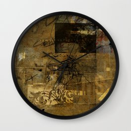 sedimenti 68 Wall Clock