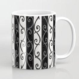 Burtonesque Stripes and Swirls.. Coffee Mug