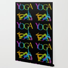 Yoga addicts Wallpaper