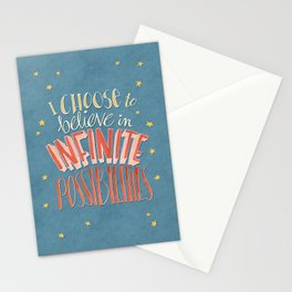 Infinite Possibilities Stationery Cards