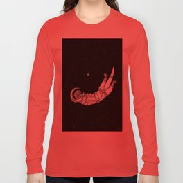 André Floating Around in Otter Space Long Sleeve T-shirt
