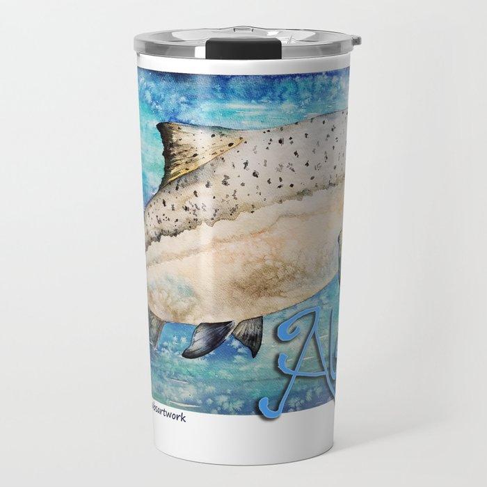 King Salmon Travel Mug