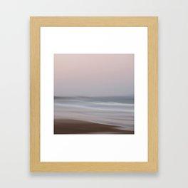 Pink at Night Framed Art Print