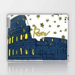Rome Italy Colosseum Starry night Laptop & iPad Skin