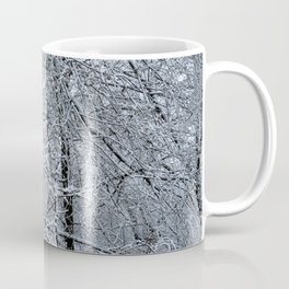 Late Winter Snow Entanglement Coffee Mug