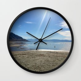 The Great Salt Lake Wall Clock