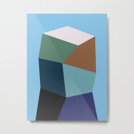 Polygon Art XIX Metal Print