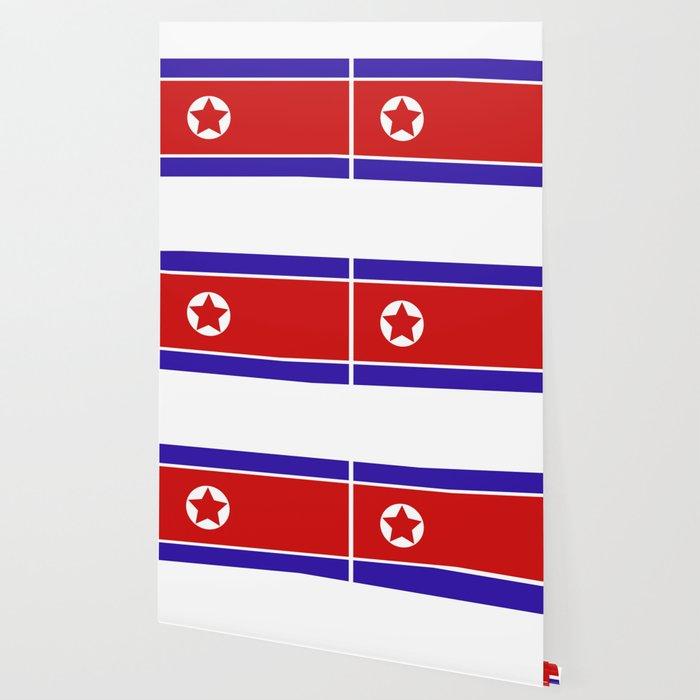 North Korea Flag Wallpaper By Mark1987 Society6