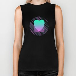 Two Hearts IV Biker Tank