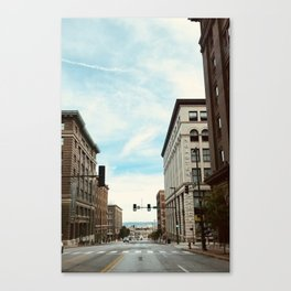 Kansas City Roaster's Block Canvas Print