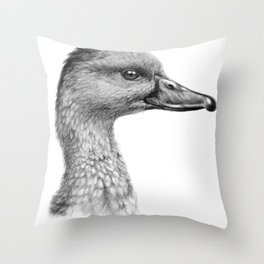 West Indian Tree Duck SK066 Throw Pillow