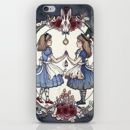 Wonder and Wander iPhone Skin