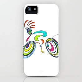Bicycle - Kokopelli rides again iPhone Case