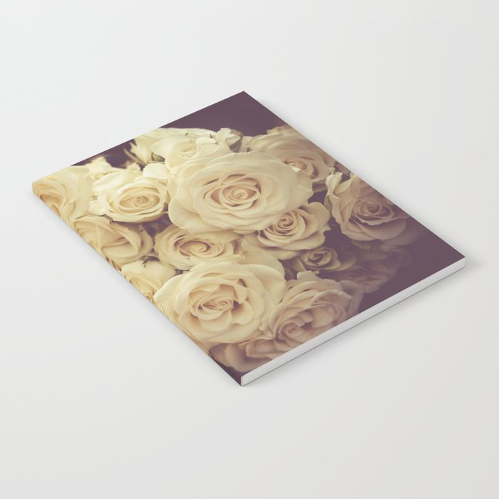 White Roses Notebook