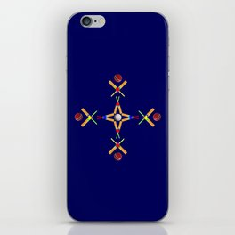 Sport Of Cricket Design version 3 iPhone Skin