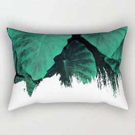 Painting on Jungle Rectangular Pillow