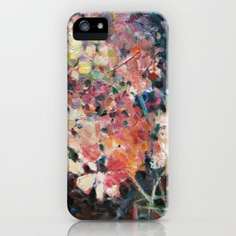Hot Hydrangeas iPhone Case